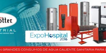 Albin Trotter Industrial en Expo Hospital