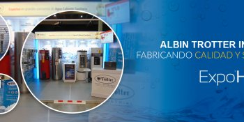 AlAlbin Trotter Industrial, fabricando Calidad y Servicio en Expo Hospital 2017