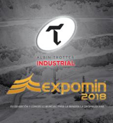 Albin Trotter Industrial en Expomin 2018
